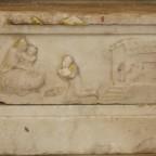 Il piedistallo della statua della Madonna della Catena venerata in Castiglione di Sicilia (CT)