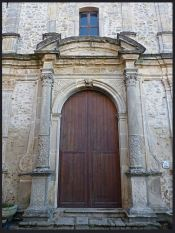Luigi Strano Gangi (Pa) - Il portale della Chiesa della Madonna della catena