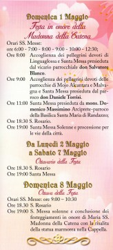 Castiglione di Sicilia (CT) - Prima Domenica di Maggio 2016