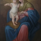 Edoardo La Francesca (Pittore) » Blog Archive » Copia Madonna della Catena di Alcamo