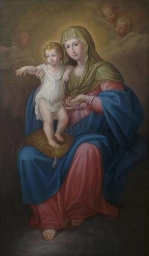 Alcamo (TP) - Madonna della Catena (XVIII sec. - Giuseppe Renda - Copia di EDOARDO LA FRANCESCA)