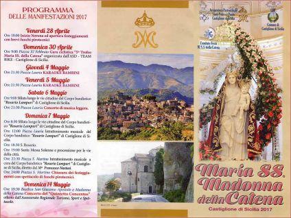 Castiglione di Sicilia (CT) - Prima Domenica di Maggio 2017